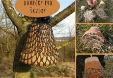 Hmyzí domečky II – domeček pro škvory